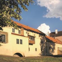 Budova zámku a Přihrádku Pardubice